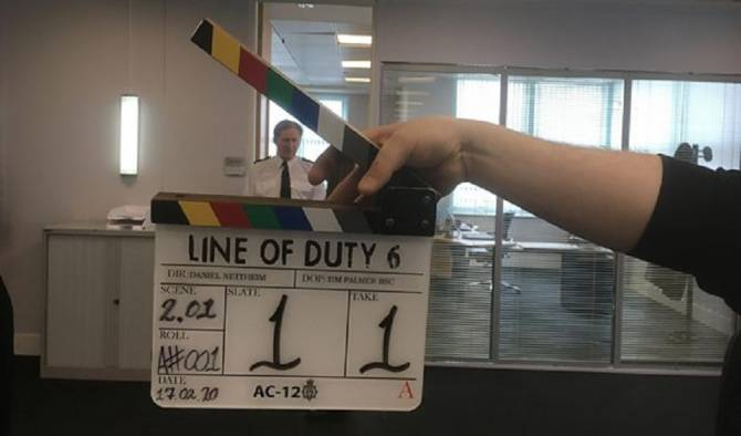 'Line Of Duty' Resumes Filming