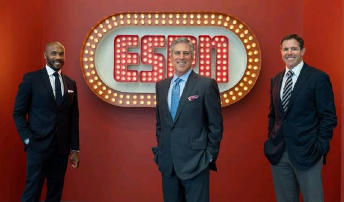Q&A: Steve Levy, Louis Riddick, Brian Griese & Lisa Salters Talk 'Monday Night Football'